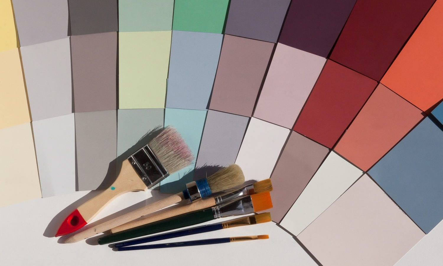 design, painting and decorating colour palettes