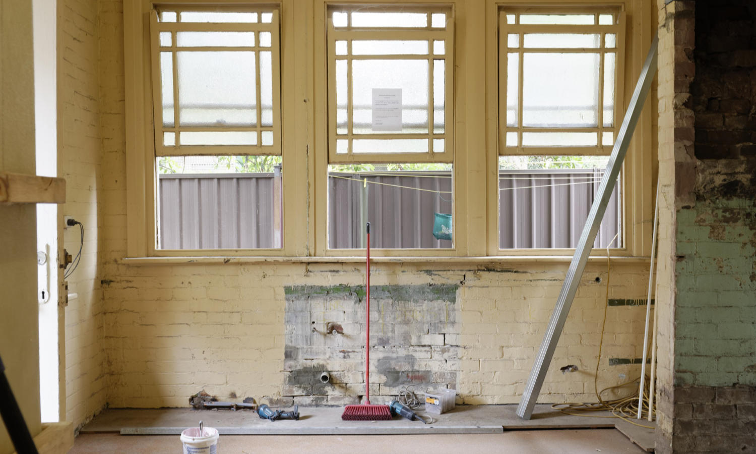 renovating a project house