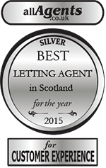 Best letting agent award - silver medal