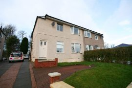 3 Bed UNFURNISHED Upper Cottage Flat, Glencroft Rd, Croftfoot, available 26 Oct 2020