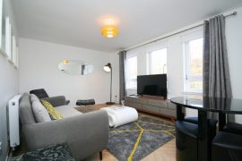 1 Bed Furnished Flat, John Knox St, City Centre