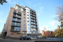 A Two Bedroom Furnished Apartment on Rose Street with Parking, Garnethill, Glasgow City Centre